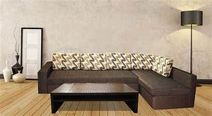 Get modern complete home interior with 20 years durability for Sectional sofa bed india