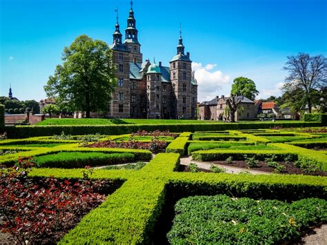 Rosenborg Castle Gardens Copenhagen Jigsaw Puzzle In
