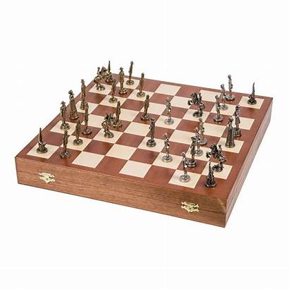 Chess Metal Lux American Schach Amerika Scacchi