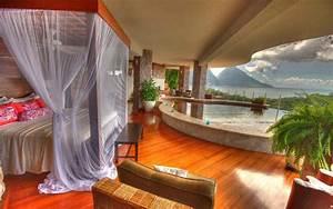 des suites avec piscine interieure exterieure invitant With mobilier de piscine design 1 exotique paysage