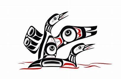 Native Northwest Loon American Clip Coast Symbols