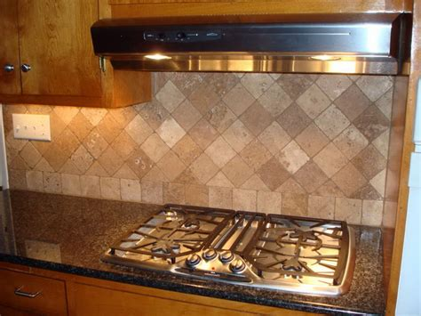 kitchen backsplash travertine travertine tile for backsplash in kitchen excellent