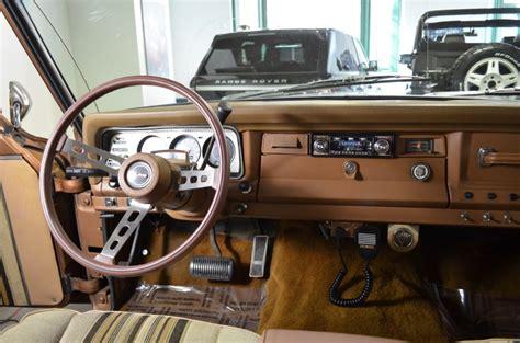 jeep cherokee chief interior 1979 jeep cherokee chief 96838 miles brown automatic