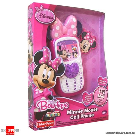 fisher price mickey mouse clubhouse minnie mouse cell