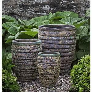 Guaracha, Pots, Green, Large, Ceramic, Planters
