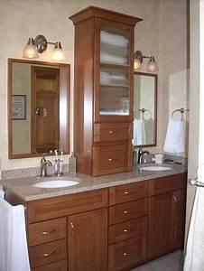 Mcclurg39s home remodeling blog for Bathroom vanities with storage towers
