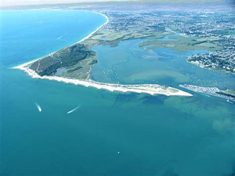 Epic Boats President by Surfski Kayak Aerial Photography Christchurch Dorset