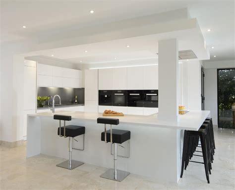 modern monochrome kitchen room makers  bespoke