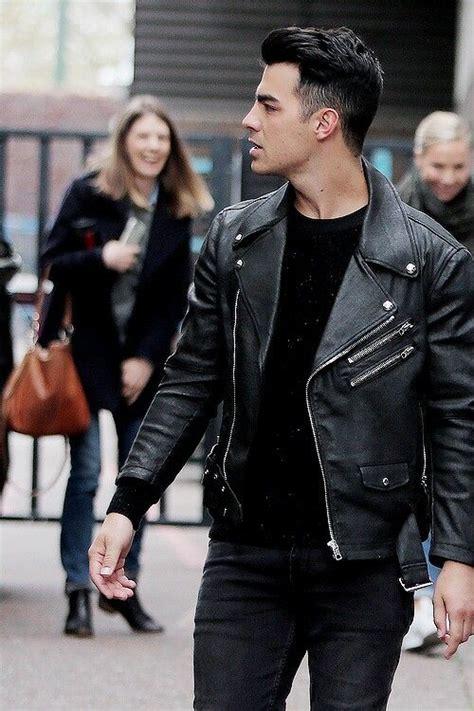 pure perfection   Jonas brothers, Joe jonas, Leather ...