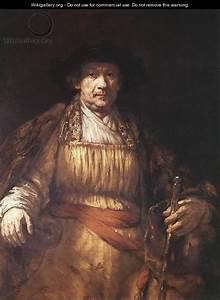 Self-Portrait 1658 - Rembrandt Van Rijn - WikiGallery.org ...