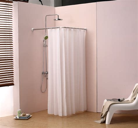 shower curtain rod home design ideas