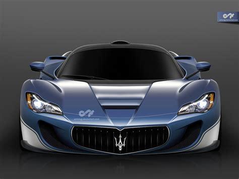 Ferrari Laferrari Based Maserati Lamaserati Rendered