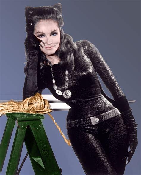 julie newmar as catwoman 1966 batman