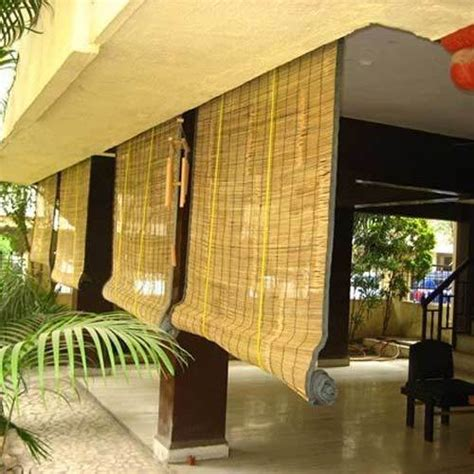 Custom Bamboo Blinds by Exterior Bamboo Blinds At Rs 45 Square Abids