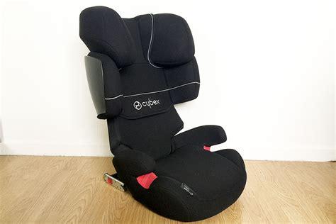 siege auto cybex solution x fix test du siège auto cybex solution x fix avec poussette