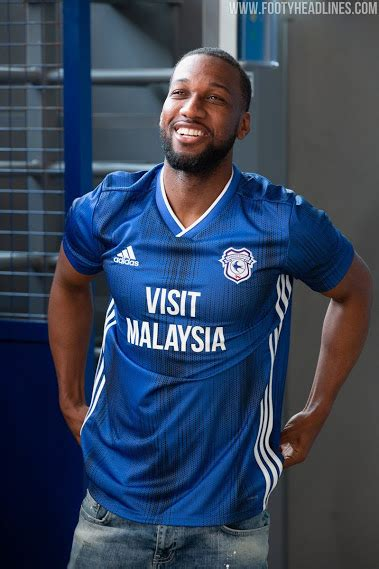 teamwear adidas cardiff city home kit released footy headlines