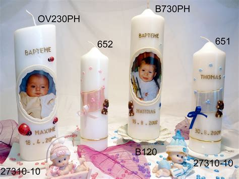 bougies de bapt 234 me bougies et cierges personnalis 233 s 2 bougies bach