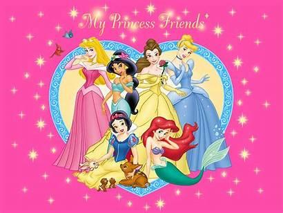 Princess Disney Wallpapers Backgrounds Princesses Desktop Characters