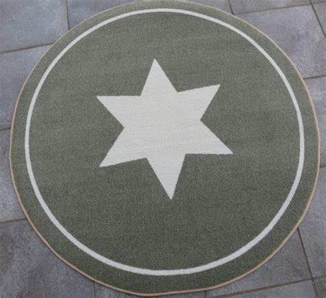 teppich rund grau taupe 216 ca 100 cm vorleger wohnaccessoires teppiche