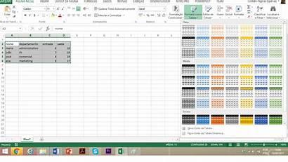 Tabela Excel Tabelas Formatar Como Aprenda Vai