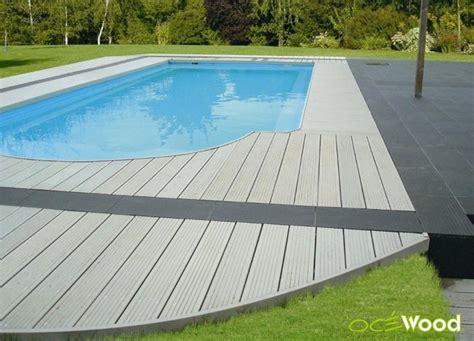 carrelage plage piscine gris 10 exemples de plages de piscine grises en composite