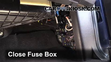 interior fuse box location   ford