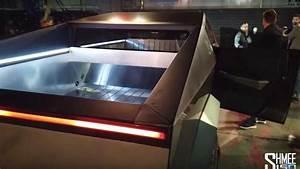 Tesla Cybertruck's Interior (Screenshots From Video) - 4532089