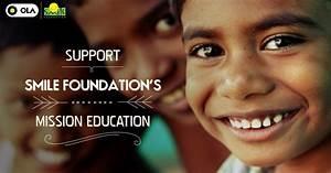 Donate to Smile Foundation's Mission Education | Ola Blog