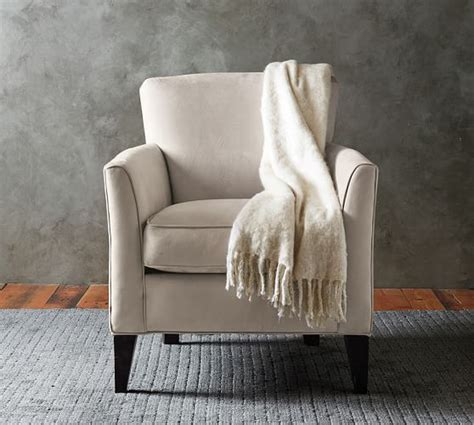 Marcel Armchair by Marcel Upholstered Armchair Pottery Barn