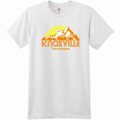 Knoxville Tennessee Mountains Shirts Featured