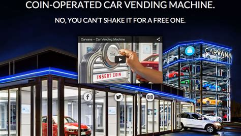 Carvana Usedcar Vending Machine Is Tip Of The Disruption