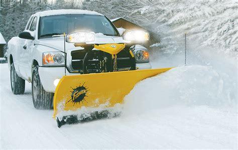 fisher sd series snow plow dejana truck utility equipment