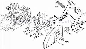 Stihl Ms170 Chainsaw Parts Diagram