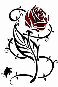 Rose and thorn clipart collection