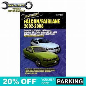 Workshop Repair Manual Ford Falcon 2002