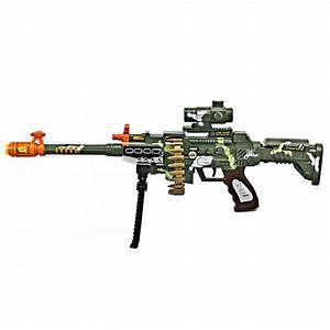 Kids Army Mini Special Mission Toy Machine Gun - Kids