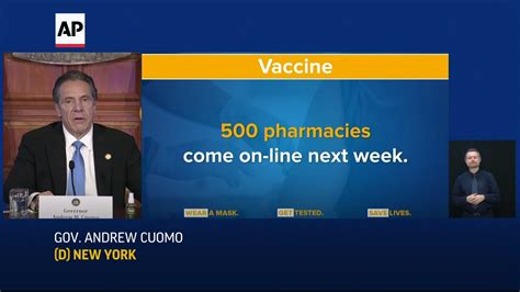 New York will vaccinate millions in 2021