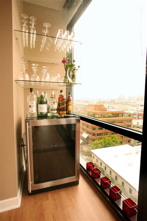 Small Bar Area Ideas by 67 Cool Small Balcony Design Ideas Digsdigs