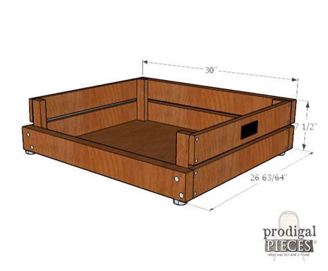 pet bed diy building plans tutorial prodigal pieces