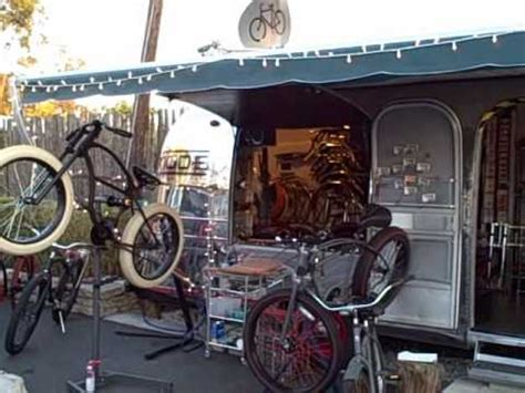 Cool Custom Bike Shop in Airstream Trailer.WMV - YouTube