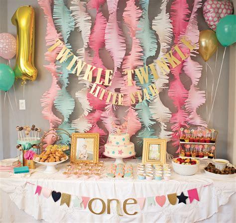 idee deco pour anniversaire bebe 1 an d 233 coration anniversaire 1 an 50 id 233 es mignonnes