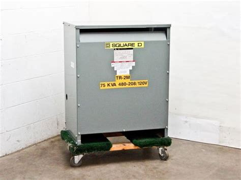 square d 75t3h 75 kva 3ph 480 volts delta to 208 120 transformer recycledgoods