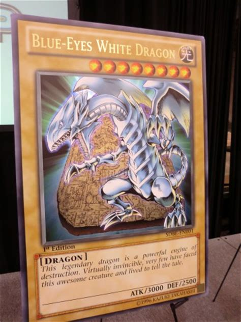 Azure Eyes Silver Dragon Structure Deck by Yu Gi Oh Trading Card Game 187 Attack Of The Giant Card