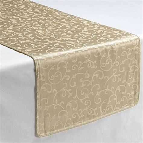 lenox opal innocence ivory decorative table runner bed bath