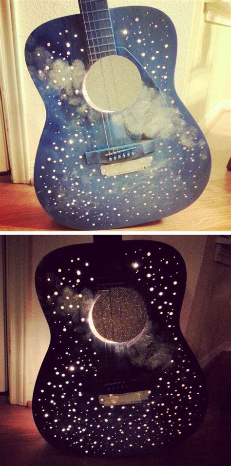 upcycled guitar lamp  tutorial mary  pretty