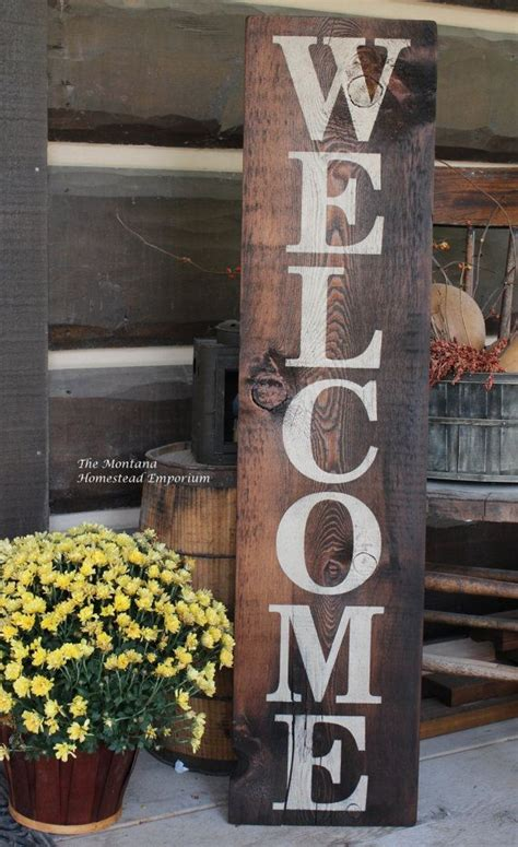 pin  rankin poage  decorations porch signs front