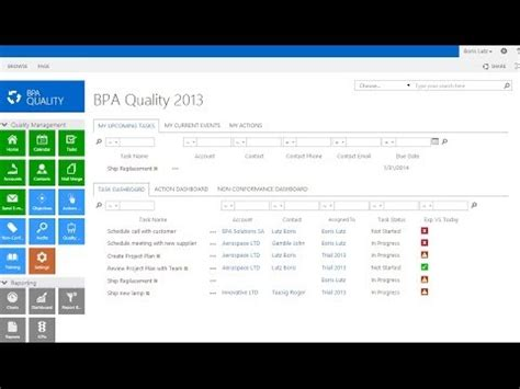 bpa quality management systems overview  sharepoint