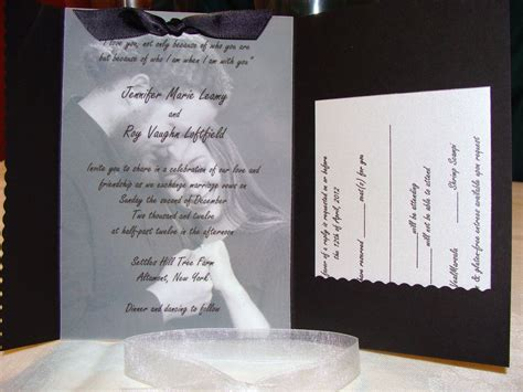 ideas about vellum wedding invitations for your