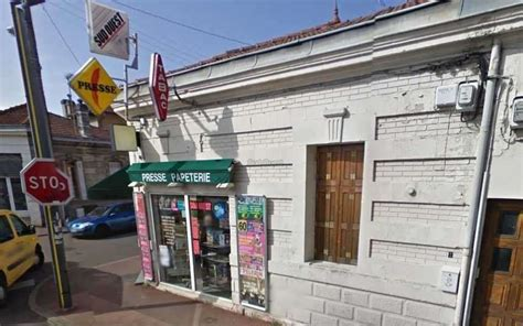 bureau de tabac bordeaux talence 33 braquage avorté dans un bureau de tabac