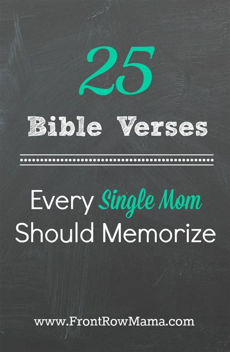 Here Are 25 Bible Verses Every Single Mom Should Memorize
